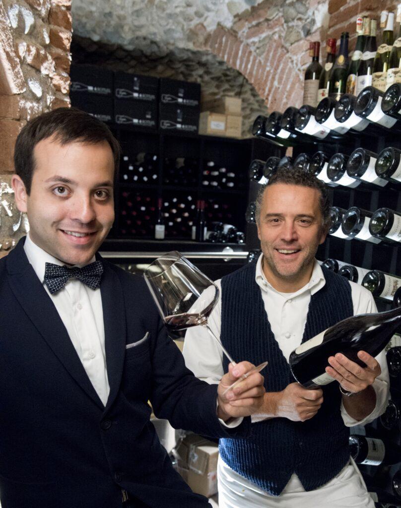 Giancarlo Perbellini con Marco Matta