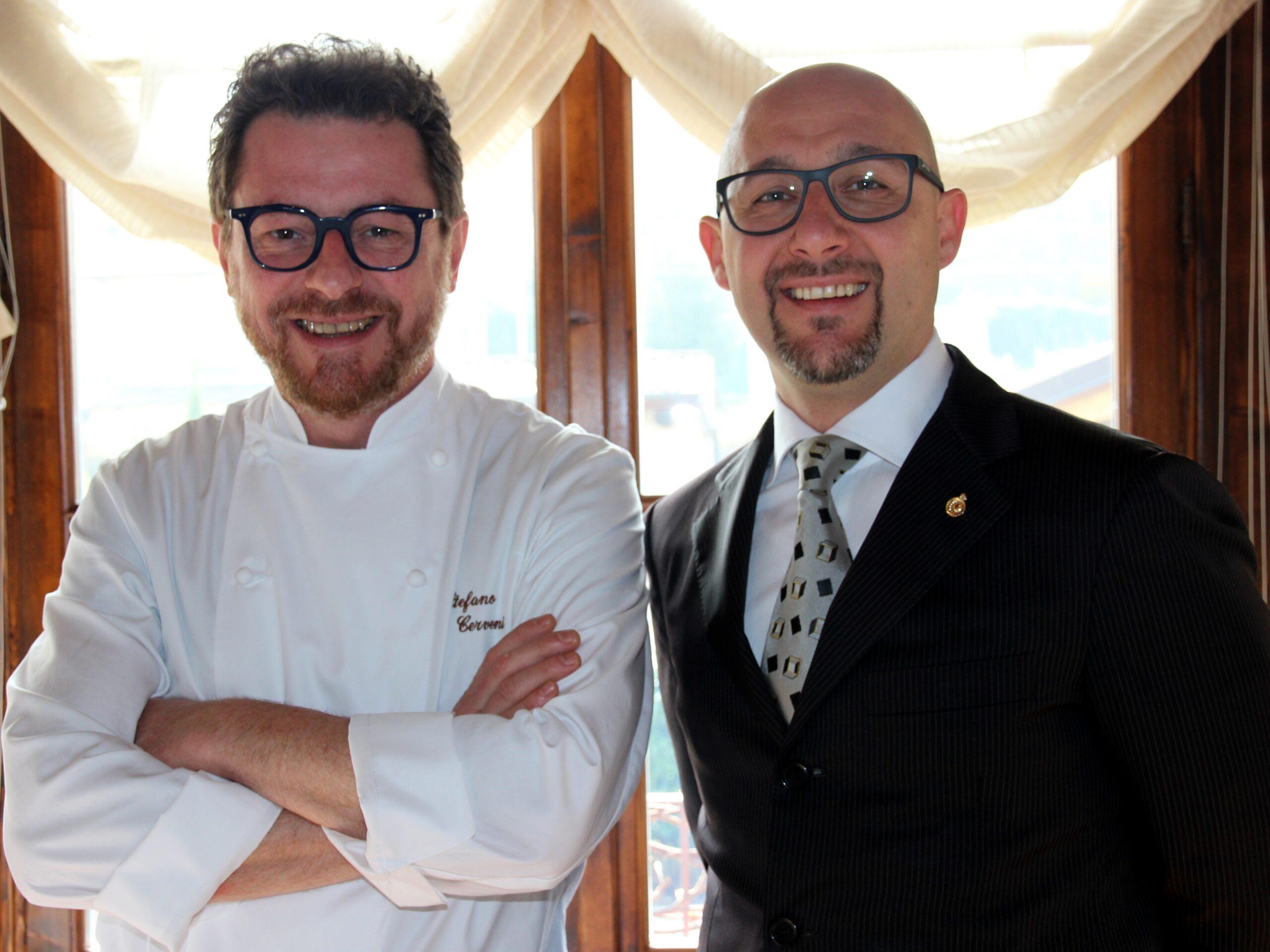 Stefano Cerveni and Gianluca Goatelli